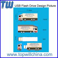 Unique Company Design Custom PVC USB Flashdrive 2GB 4GB 8GB 16GB 32GB Capacity