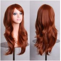 Buy cheap Colorful Cosplay Kinky Curly Wave Wigs Woman Fashion Design Hair product