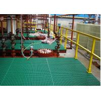 Buy cheap Heavy Duty FRP Plastic Floor Grating For Work Platform Smooth Surface product