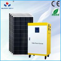 China 1500w mobile solar power system home solar panel system price for solar generator with mounting system on sale