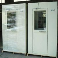 Buy cheap Metal Body Cleanroom Air Shower , Pass Box Air Shower PLC Control System from wholesalers