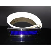 Buy cheap Customized LED message display belt buckle for party product