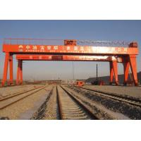 Buy cheap Double Beam Rail Mounted Gantry Crane For Automobile / Construction / Engineering Industries product