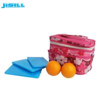 Buy cheap Portable HDPE Plastic Reusable Ultra Thin Ice Pack For Cooler Cold Packs product