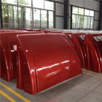 Buy cheap Painting Surface Fiberglass Tractor Parts Agricultural FRP Tractor Engine Cover product