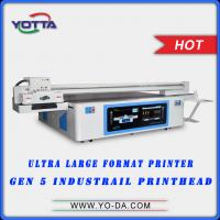 Buy cheap Large Format UV flatbed 3D wall tiles printer 3D floor printer,3d dolphin wall tiles printing machine product