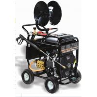 Buy cheap Portable Commercial Pressure Washers 5000 PSI 350BAR 24HP SAE30 Pump Oil Type product