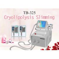 Buy cheap 2 Cryoliposis Treatment Handle Simultaneously With 3 Size Body Slimming Machine 1800W product