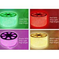 Buy cheap Color Chasing Led Rope Light Flexible Led Strip 5050 100 Meters 220v product