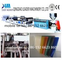 Buy cheap twin wall polycarbonate sheet extrusion line product
