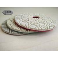 Buy cheap 4 inch Wet Diamond Polishing Pads for Marble and Granite Polish 3 Step from wholesalers