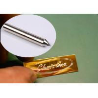 Buy cheap 3.175mm Diamond Drag Bit , Cnc Engraving Tool Bits For Glass Stainless Brass product