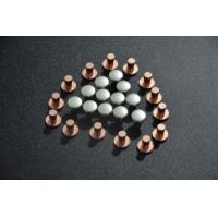Buy cheap AgCu Silver Plated Electrical Contacts / Silver Plated Copper Contacts For Starters product
