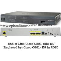 Buy cheap 4 LAN Ports Wired Cisco 800 Series Router CE Certification CISCO881/K9 product