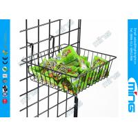 Buy cheap Wire Metal Gridwall Display Racks , Grocery Store Fixtures Clothing Display product