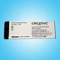 Buy cheap Removable Battery for Creative MP3 Players product