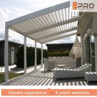 Buy cheap Durable White Aluminum Attached Pergola Wall Mounted Style For Window Of Office product