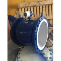 Buy cheap Large Diameter Industrial Flow Meter DN800 Electromagnetic Flow Meter With Lower And Upper Alarm product