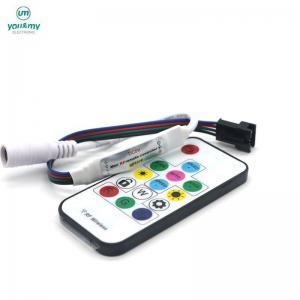 Buy cheap 5V/12V SMD5050 RGB Led Strip Light controller by 14-key DC5V/12V 2811 IC Pixel Led Controller product