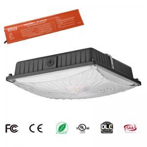 Buy cheap 5000K UL DLC 347V LED Parking Garage Lights 65W Aluminum / PC Shell Materials product