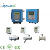 China Clamp On Drinking Water / Distilled Water Flowmeter on sale