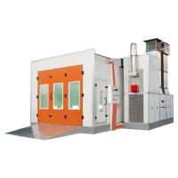 China Downdraft Paint Spray Booth 18KW For Car Spraying and Baking on sale