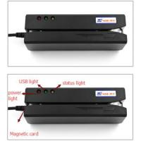 Buy cheap magnetic card reader writer/swip card reader writer compatible with MSR206 product