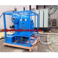 Buy cheap vacuum transformer oil filter machine,transformer oil dehydration machine,degassing, purification solutions, oil cleaner product