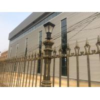 Buy cheap Outdoor Decor Cast Iron Fence Street Decoration Custom Metal Fence product
