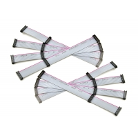 Buy cheap Red Edge Gray 1.27*2.54 12 Pin Ribbon Cable product