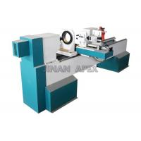 Buy cheap Horizontal Spindles CNC Wood Turning Lathe Machine DSP Control System For Wood Carving product