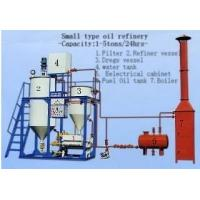 China Peanut Oil Refinery Equipment on sale