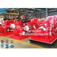 Buy cheap Double Suction Diesel Engine Fire Pump Set With UL Listed , 1250gpm Flow product