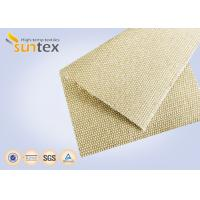China 18oz Silica 0.6mm Industrial Fire Blanket Roll Safety Cloth For Fire Barrier Thermal Insulation Jacket on sale
