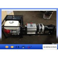 5T Fast Speed Gas Engine Powered Winch JJM5B With Honda Engine 13HP