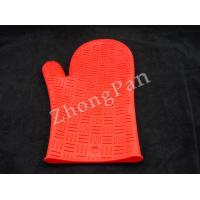 Buy cheap Silicon Kitchenware heat resistant silicone rubber oven gloves for cooking safety product