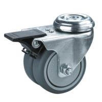 Buy cheap twin wheels caster with bolt hole product