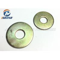 Buy cheap Round Head Flat Washers A Type , Flat Steel Washers For Mechanical Machine product