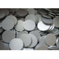 Thin 1070 Aluminum Round Plate , 5mm - 110mm Polish Aluminium Slugs