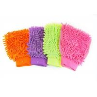 Buy cheap microfiber/chenille car wash gloves product