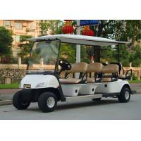 Buy cheap Popular Outdoor 6 Seater Golf Cart With Aluminum Rim , 48V Battery Voltag product