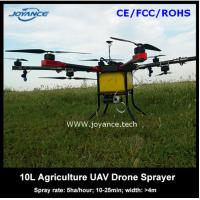 Buy cheap 10kg agricultural uav drone crop sprayer with two 16000mah li-po batteries for sale product
