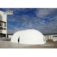 Buy cheap 25m Special White Portable Customized Ellipse Steel Pvc Event Dome Tent for Outdoor Party from Wholesalers