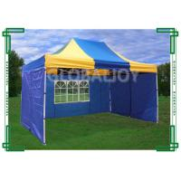 Buy cheap Iron / Aluminum Frames Gazebo Replacement Canopy 3 x 4.5m With 3 Sidewalls product