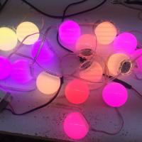 Buy cheap Frosted Cover Rgb Pixel Lights UCS1903 Easy Installation For Outdoor Digital Lighting product
