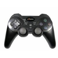 Buy cheap ABS 2.4G Sixaxis Wireless Playstation Controller , Double Vibration Feedback Playstation 3 Gamepad product