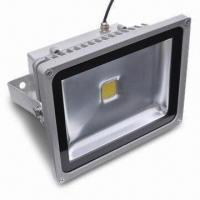 Buy cheap 30W LED Floodlight with IP66 Rate, 2,400lm Luminous Flux and 2 Years Warranty product