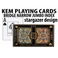 Advanced KEM Stargazer Invisible Ink Marked Card Decks For Cheating Poker Games