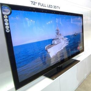 LG Release 72-Inch LZ9700 The Biggest 3D Tv (Full Led)