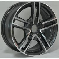 Full Painted Chrome 13 Inch Alloy Wheels with Machine Cut Face for Car KIN-169